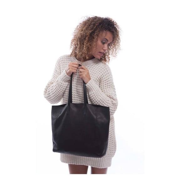 Kožená kabelka O My Bag Jazzy Less Midnight Dark