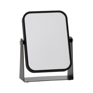 Kozmetické stolové zrkadlo s čiernym rámom Zone