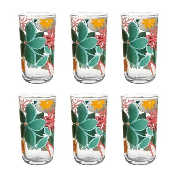 Sada 6 pohárov Luxuriance