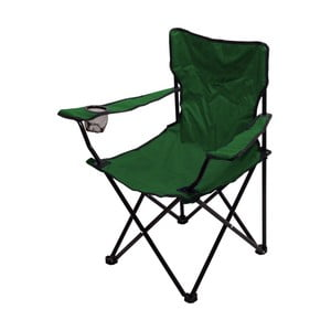 Zelená skladacia kempingová stolička Cattara Bari