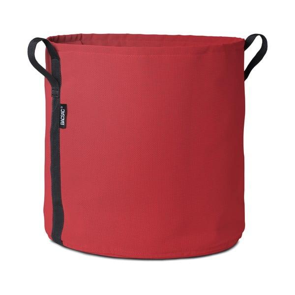 Červený kvetináč, 50 L