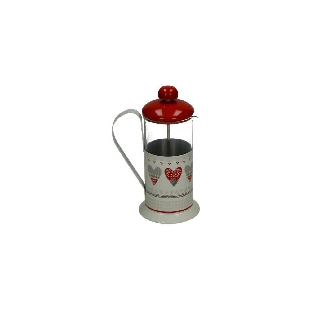 Kovový french press na kávu Brandani Happy Day, 350 ml