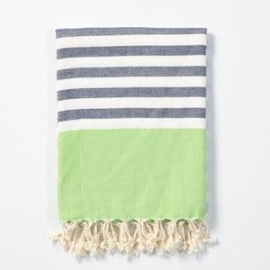 Hammam osuška z ručne tkanej bavlny ZFK Hildur, 170 x 100 cm