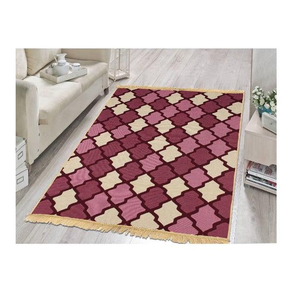 Fialovo-béžový koberec Ya Rugs Claret, 120x180cm