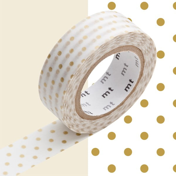 Washi páska Pois Gold