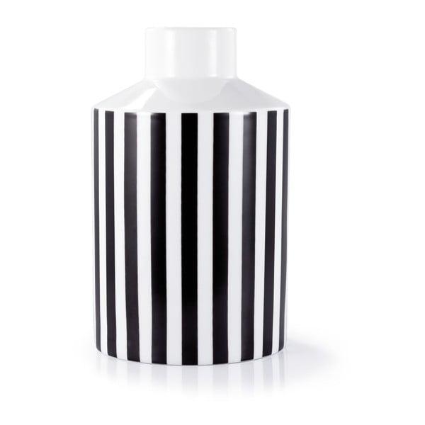 Porcelánová váza Remember B&W, 20 cm