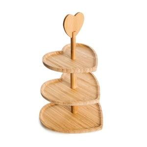 Bambusový servírovací stojan Bambum Triple