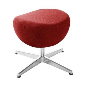 Červená otočná stolička/podnožka My Pop Design Indiana