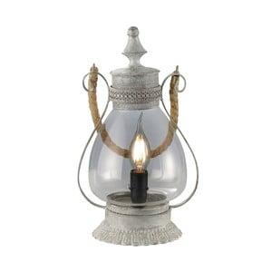 Stolová lampa Linda, sivá