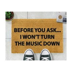 Rohožka Artsy Doormats Loud Music, 40 × 60 cm