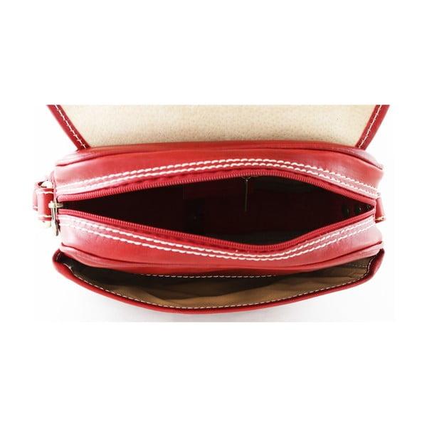 Kožená unisex taška Professional Rosso