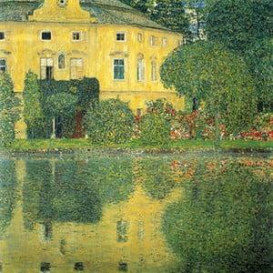 Reprodukcia obrazu Gustav Klimt - Castle at the Lake, 60x60cm