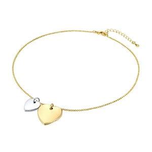 Dámsky náhrdelník v zlatej farbe Runaway Heart