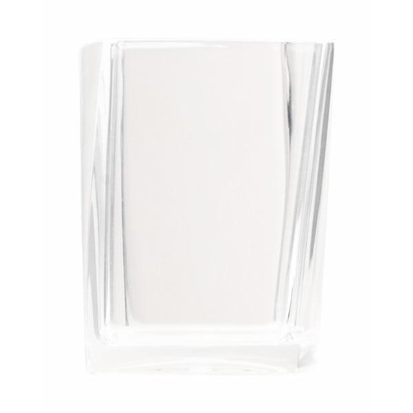 Dóza na zubné kefky Transparent White