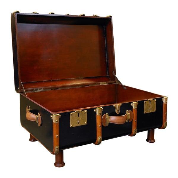 Kávový stolík v tvare kufru Stateroom