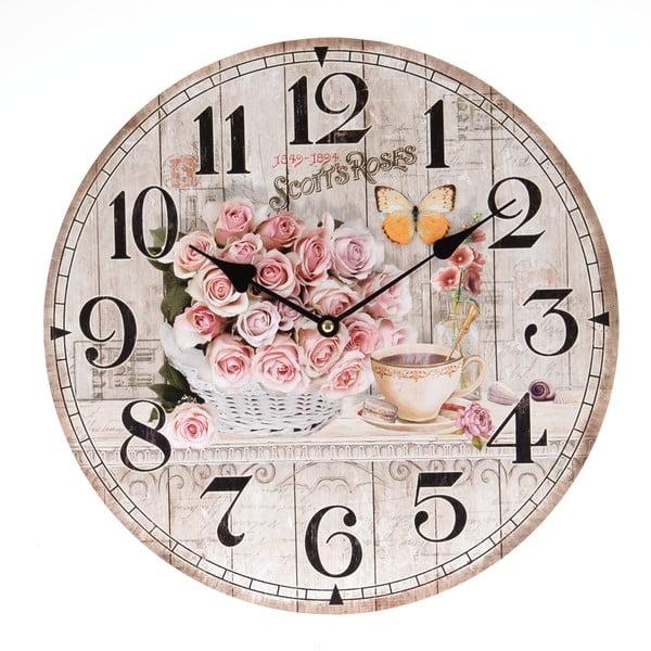 Nástenné hodiny Light Ross, 34 cm