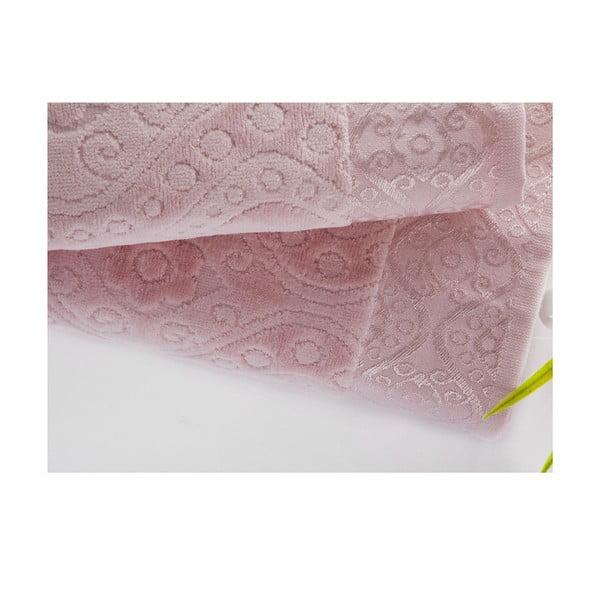 Sada uteráka a osušky Sal Pink, 50x90 cm a 70x140 cm