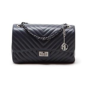 Kožená kabelka Anna Luchini 2118 Blu
