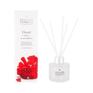 Difuzér Shearer Candle 100 ml, kvetinová vôňa