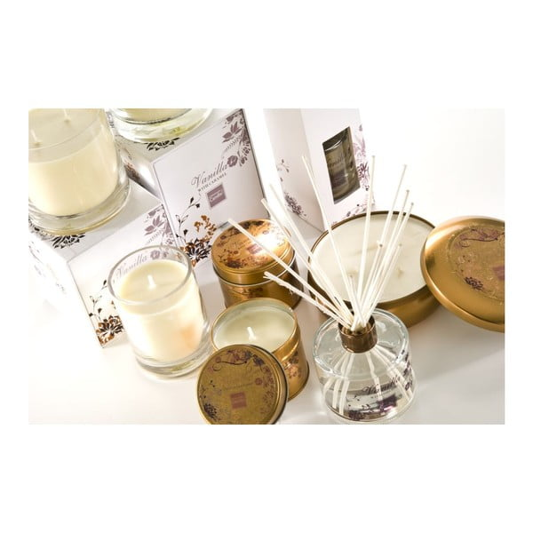 Aroma sviečka v plechovke  Vanilla & Coconut Large, doba horenia 28 hodín