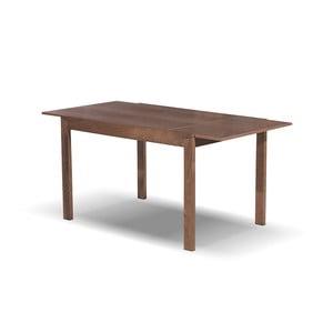 Rozkladací jedálenský stôl Ghost, 120-164 cm, tmavý