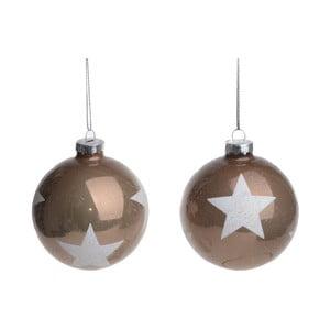 Sada 2 závesných dekorácií Ewax Stars