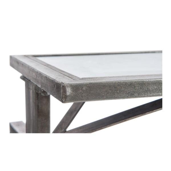 Konzolový stolík Metal Silver