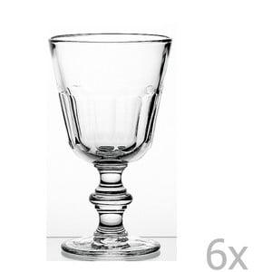 Sada 6 pohárov na stopke Périgord, 390 ml