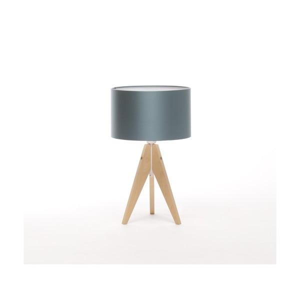 Stolná lampa Artista Birch/Ice Blue, 28 cm