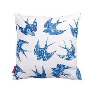 Obliečka na vankúš Blue Bird, 43x43 cm