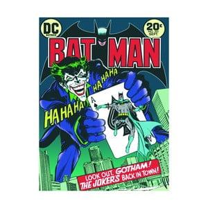Obraz Pyramid International Batman The Joker Is Back In Town, 60 × 80 cm