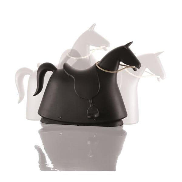 Čierny hojdací kôň Magis Rocky
