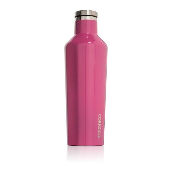Ružová termofľaša Corkcicle Canteen, 470ml