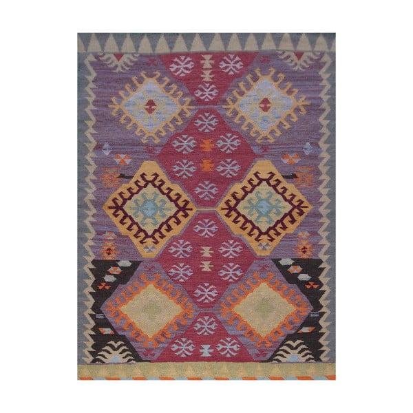 Vlnený koberec Kilim No. 200, 120x180 cm