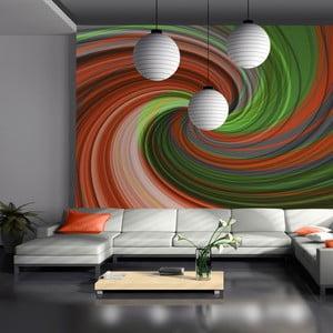 Veľkoformátová tapeta Artgeist Swirling Rainbow, 300 x 231 cm