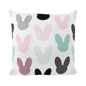 Vankúš Bunny Shadows, 50x50 cm