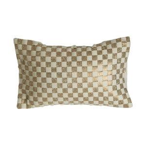Vankúš Checkerboard Design, 34 x 60 cm