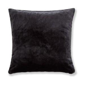 Čierna obliečka na vankúš Catherine Lansfield Basic Cuddly, 55×55 cm