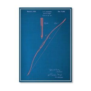 Plagát Bow, 30x42 cm