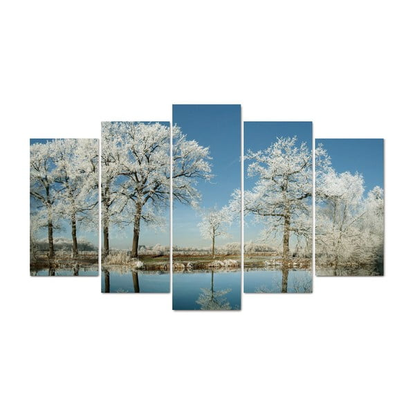 5-dielny obraz Meadows, 60x100 cm