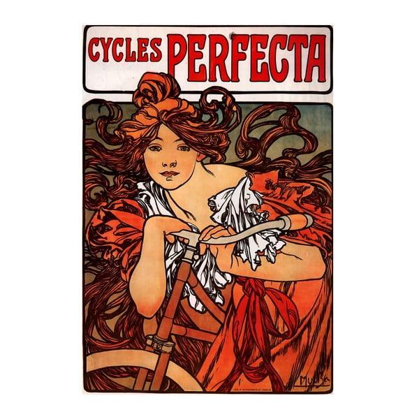Obraz Alfons Mucha Cycles Perfecta, 120x80 cm