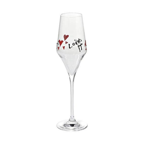 Set sklenek na šampaňské Fade Love Sweet Years, 6ks