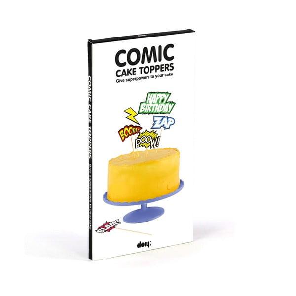 Tortové vlajočky Comic