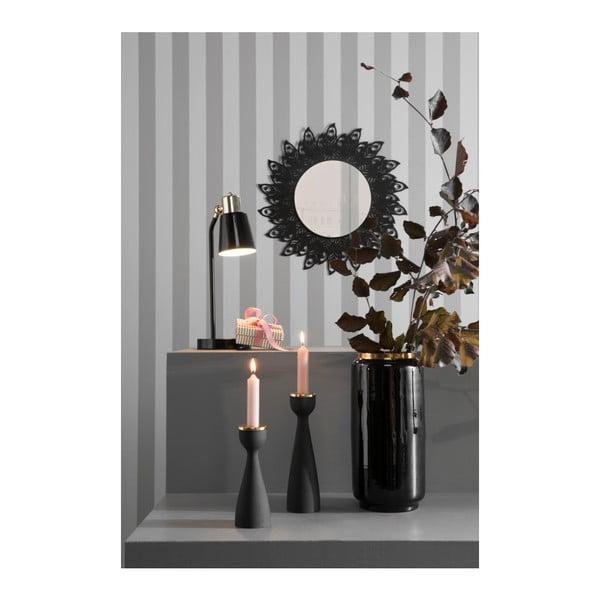 Čierna stolová lampa Leitmotiv Classic