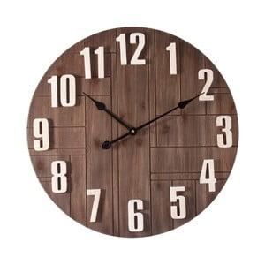Nástenné hodiny z dreva Last Deco Kenya, ø 60 cm