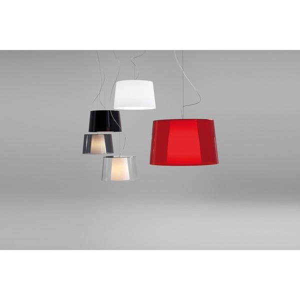 Červené závesné svietidlo Pedrali L001S/BA