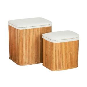 Set 2 košov na bielizeň Bamboo II