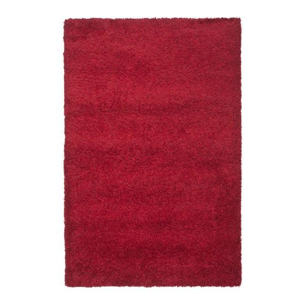 Koberec Crosby Shag Red, 121 x 182 cm