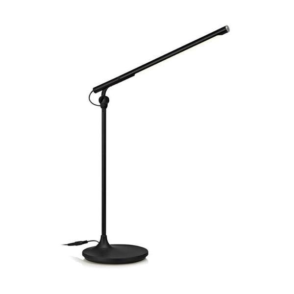 Stolná lampa Mac LED, čierna