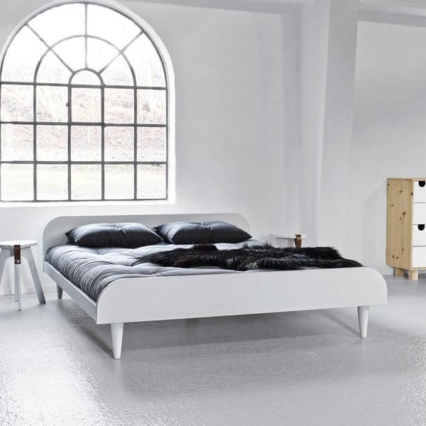 Posteľ Karup Design Twist White, 160×200cm